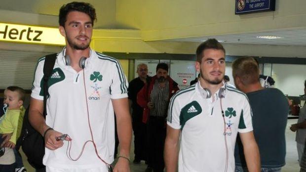 Τα «αδέρφια» Καπίνο-Μαυρίας! (pic) | Panathinaikos24.gr