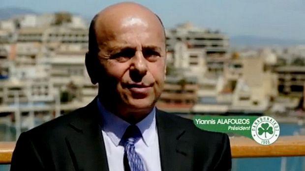 Αλαφούζος: «Είναι άρρωστο»! ( video) | Panathinaikos24.gr