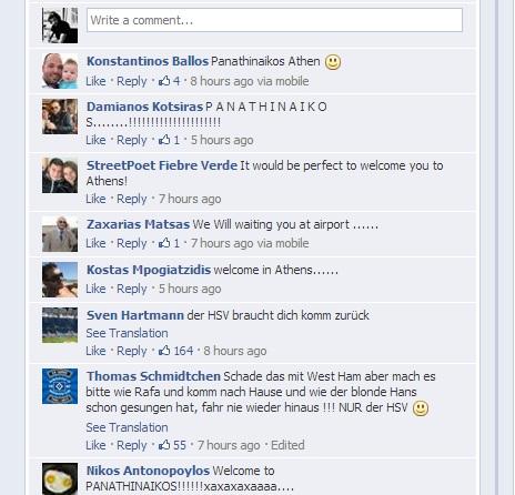 Χαμός στο facebook του Πέτριτς! | Panathinaikos24.gr
