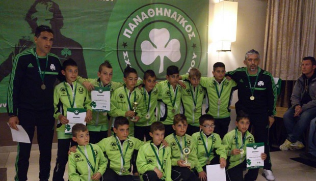 Ολοκληρώθηκαν τα «Green Youth Cup 2014» | panathinaikos24.gr