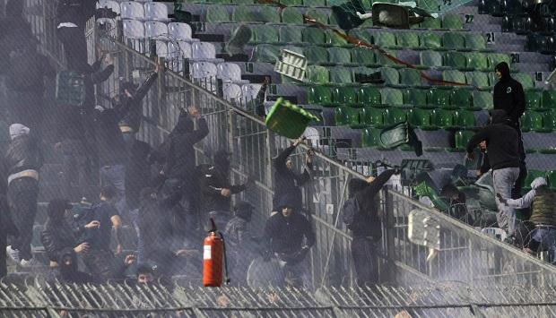 Επεισόδια και φωτοβολίδες στη Λεωφόρο (Vids+Pics) | panathinaikos24.gr