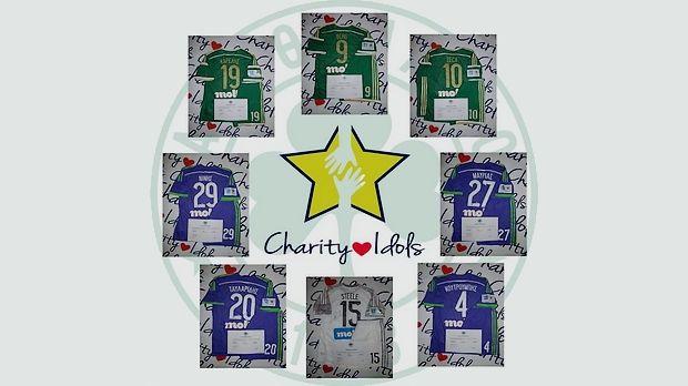 Ο Παναθηναϊκός και το Charity Idols (Pics) | panathinaikos24.gr