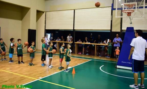 Παναθηναϊκός μπάσκετ Ακαδημίες