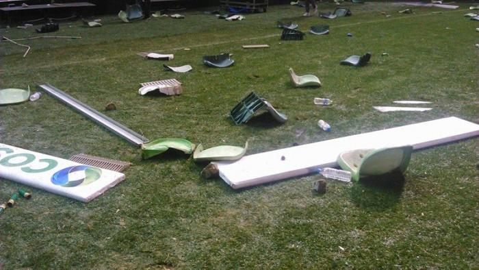 Εικόνες καταστροφής από τη Λεωφόρο! (Pics) | panathinaikos24.gr