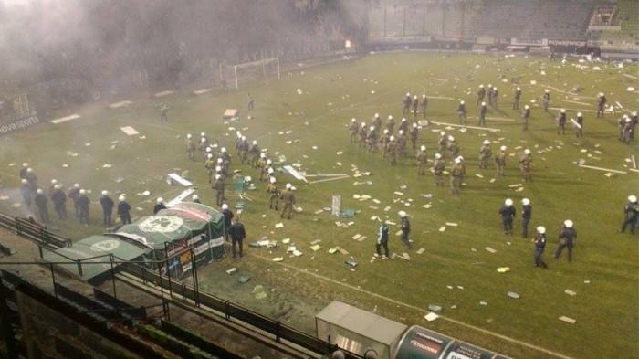 Βίντεο ΣΟΚ! Κόλαση και χάος στη Λεωφόρο! (vids + pics) | panathinaikos24.gr