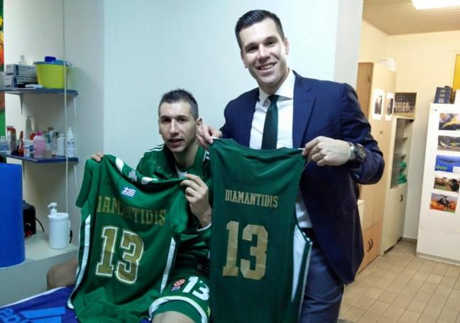 Μπετσίροβιτς: «Μαζί με τον θρύλο» | panathinaikos24.gr