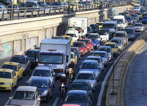 Έμφραγμα στους δρόμους: Μποτιλιάρισμα 23 χιλιομέτρων στον Κηφισό! | panathinaikos24.gr