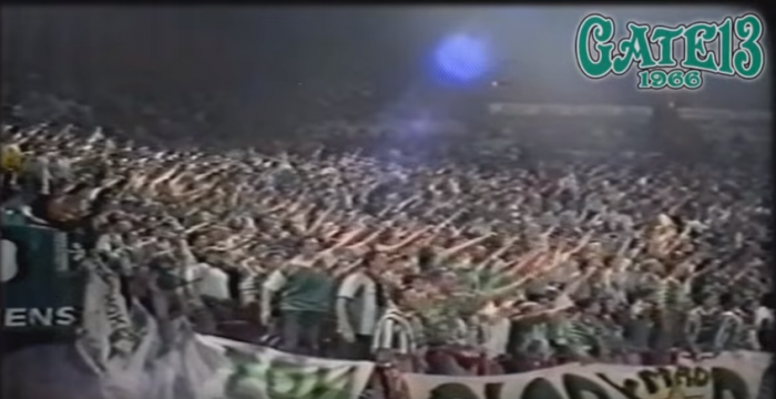 ΡΕΤΡΟ: Η Θύρα 13 στον τελικό του 1996! (vid) | panathinaikos24.gr