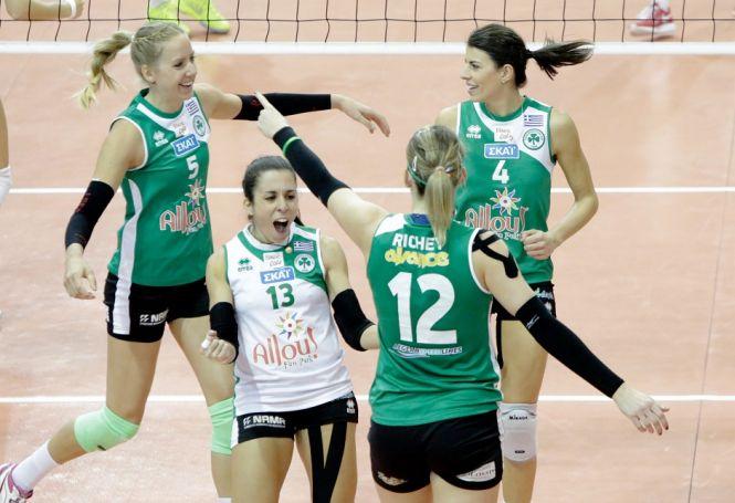 Ρόγκα: «Εμείς νικήτριες στο παρκέ!»   Panathinaikos24.gr