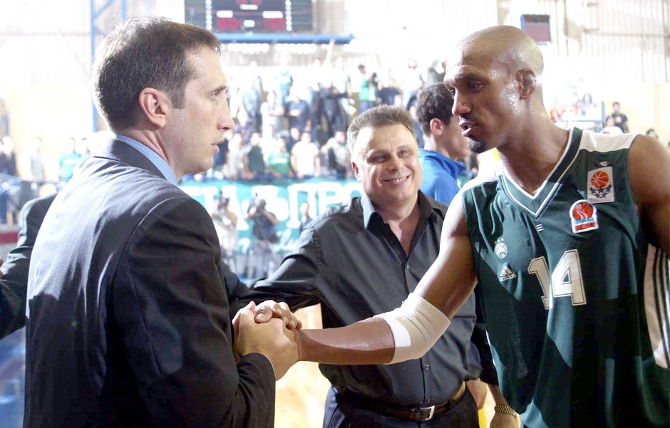 David Blatt with Arriel McDonald