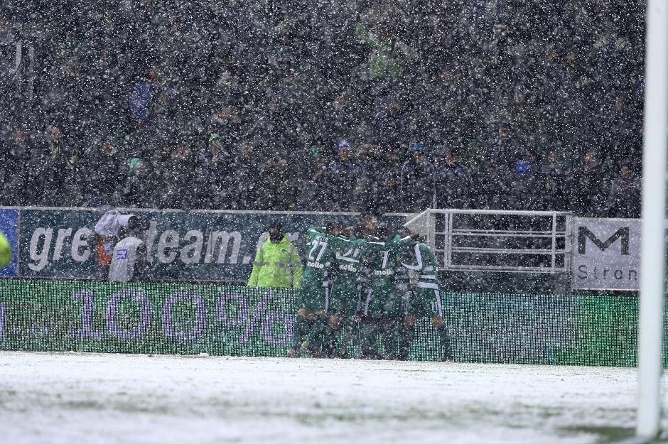 Η πιο… Παναθηναϊκή φωτογραφία από τη χθεσινή χιονισμένη Λεωφόρο!
