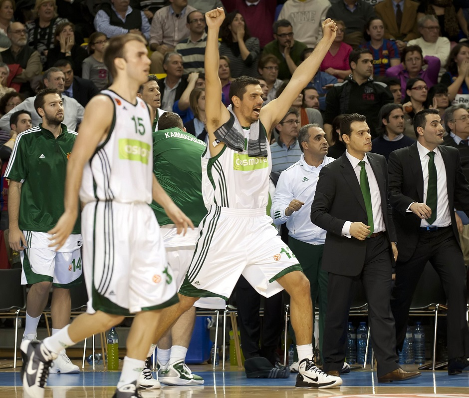 ÔÓÁÑÔÓÁÑÇÓ ÌÐÁÑÔÓÅËÏÍÁ - ÐÁÍÁÈÇÍÁÉÊÏÓ (ÅÕÑÙËÉÃÊÁ 2010-2011) TSARTSARIS BARCELONA - PANATHINAIKOS (EUROLEAGUE 2010-2011)