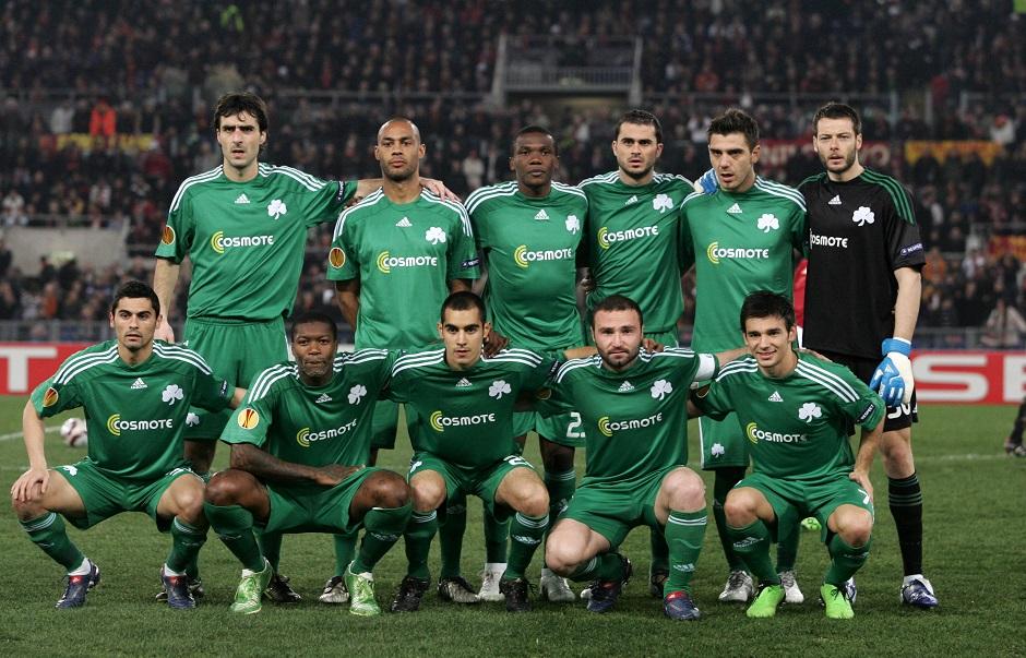 ÑÏÌÁ - ÐÁÍÁÈÇÍÁÉÊÏÓ (ÃÉÏÕÑÏÐÁ ËÉÃÊ 2009-2010)ROMA - PANATHINAIKOS (EUROPA LEAGUE 2009-2010)