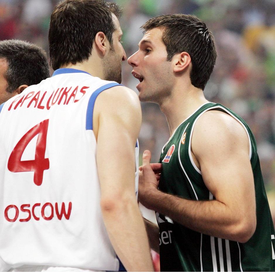 ÐÁÐÁËÏÕÊÁÓ ÌÐÅÔÓÉÑÏÂÉÔÓ / ÐÁÍÁÈÇÍÁÉÊÏÓ - ÔÓÓÊÁ (ÔÅËÉÊÏÓ ÅÕÑÙËÉÃÊÁ 2006 - ÖÁÉÍÁË ÖÏÑ 2007) PAPALOUKAS BECIROVIC / PANATHINAIKOS - CSKA (FINAL EUROLEAGUE 2006 - FINAL FOUR 2007)