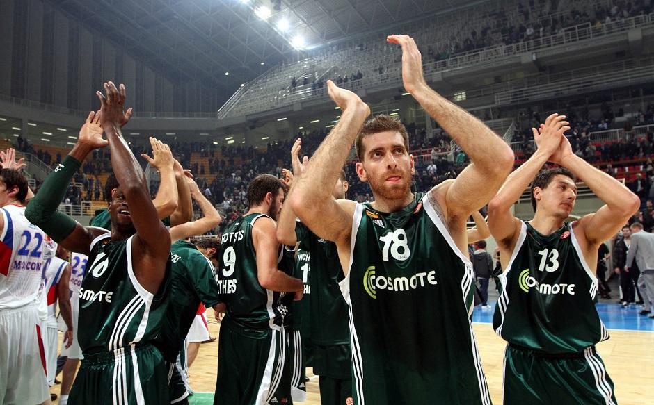 ÐÁÍÁÈÇÍÁÉÊÏÓ - ÔÓÓÊÁ (ÅÕÑÙËÉÃÊÁ 2010-2011) PANATHINAIKOS - CSKA (EUROLEAGUE 2010-2011)