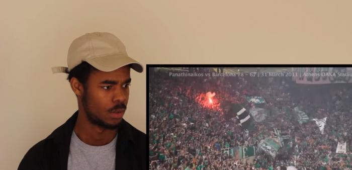 Τρομερό βίντεο: Δείτε πως αντέδρασε ο συγκεκριμένος βλέποντας τη Θύρα 13 στο ΟΑΚΑ! (VID) | panathinaikos24.gr