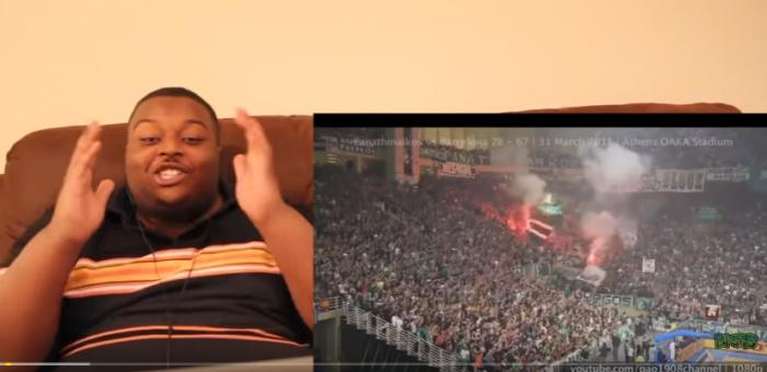 Τρομερό βίντεο: Οι αντιδράσεις των Αμερικανών βλέποντας τη Θύρα 13 στο youtube! (vid) | panathinaikos24.gr