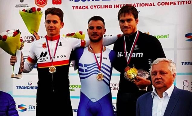 Ποδηλασία: «Χρυσός»… εις διπλούν ο Βολικάκης! | panathinaikos24.gr
