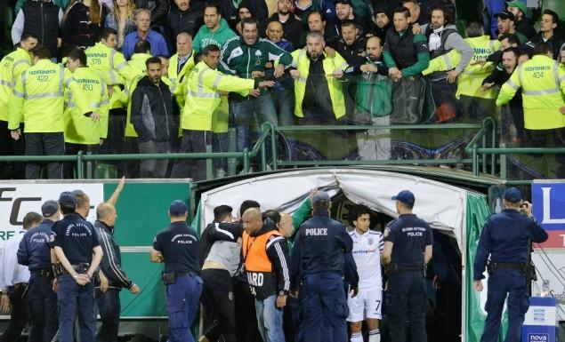Έτσι εντοπίστηκε ο οπαδός που πέταξε την μπύρα στον Ίβιτς! | panathinaikos24.gr