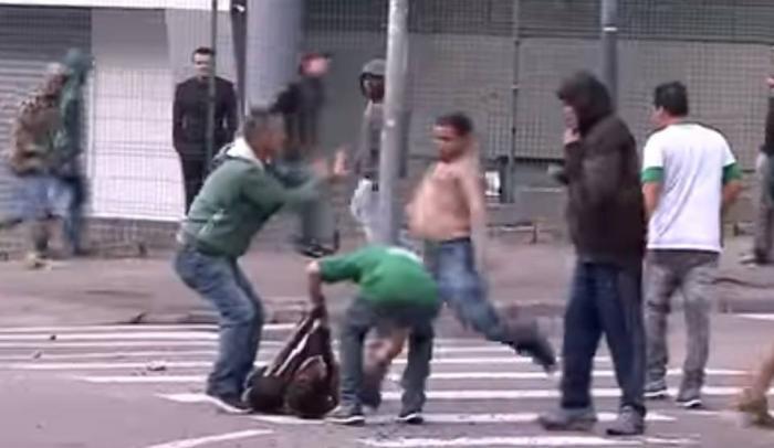 Σκηνές ΣΟΚ: Τρομακτικά επεισόδια και ένας νεκρός στη Βραζιλία (vids)   panathinaikos24.gr