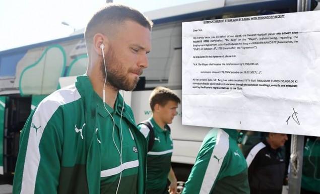 Ντοκουμέντο: Πριν 20 μέρες προειδοποίησε για την προσφυγή ο Μπεργκ!   Panathinaikos24.gr