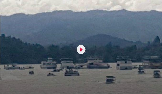 Δραματικό βίντεο: Η στιγμή που βυθίζεται πλοίο με 170 επιβάτες στην Κολομβία (vid) | panathinaikos24.gr