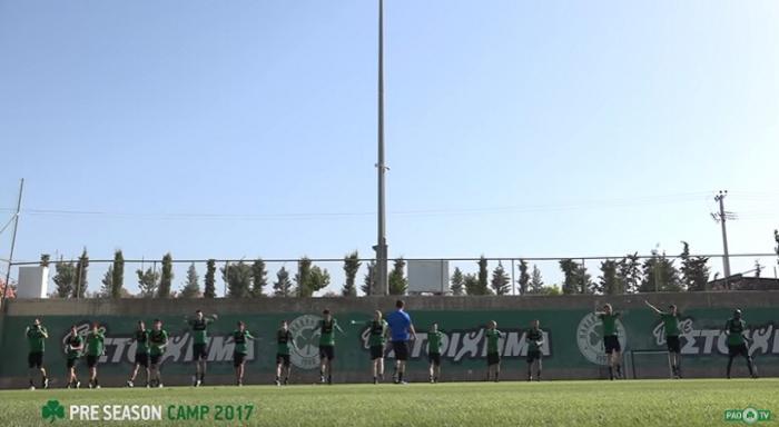 PAO TV στο Κορωπί: Ιδρώνοντας χωρίς την μπάλα (vid)   Panathinaikos24.gr