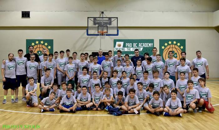 PAO BC Academy Summer Camp – Πρεμιέρα με Κόνιαρη και Παπαδάκη | panathinaikos24.gr