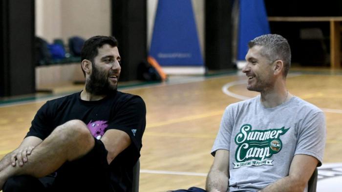 Και ο Μπουρούσης στο summer camp του Παναθηναϊκού (pics) | Panathinaikos24.gr
