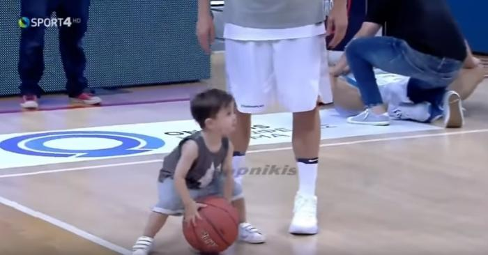 Ο Διαμαντίδης τζούνιορ…στα χνάρια του μπαμπά! (vid) | Panathinaikos24.gr