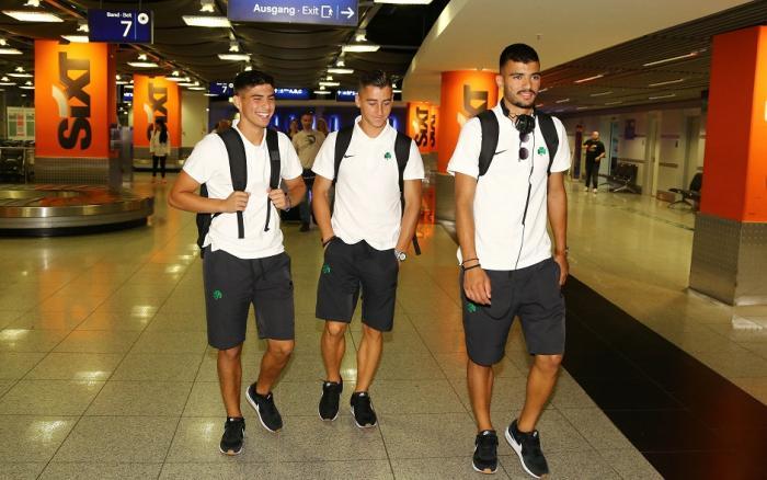 Επέστρεψε στην Αθήνα η αποστολή | Panathinaikos24.gr