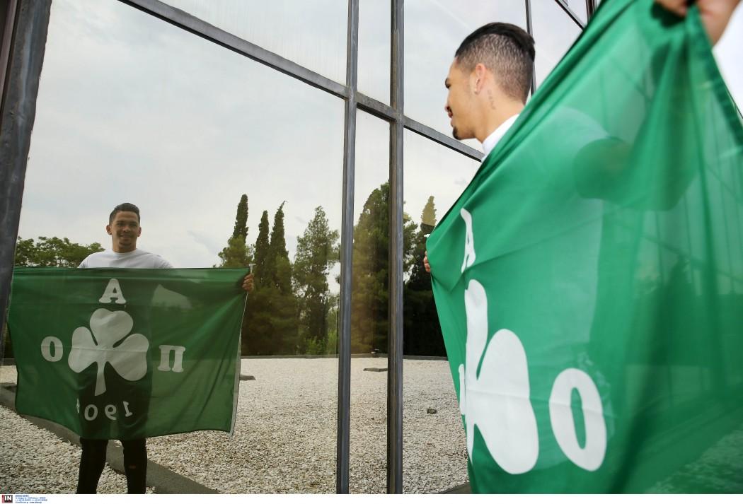 Ο Λουτσιάνο με τα πράσινα! (pics)