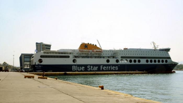 Μύκονος: Επεισοδιακός απόπλους για το Blue Star 2! Μπλέχτηκε κάβος στην προπέλα | Panathinaikos24.gr