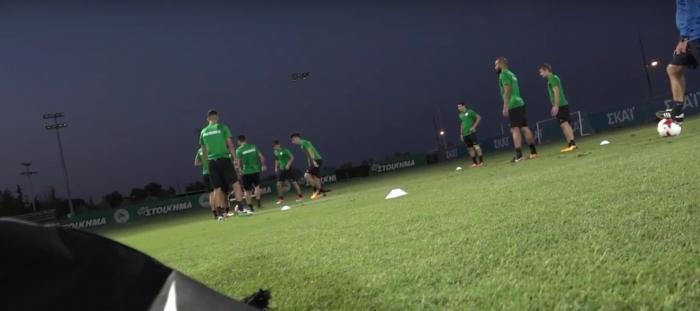 Έτσι προετοιμάστηκαν οι «πράσινοι» για το ματς με τη Μπιλμπάο! (vid) | panathinaikos24.gr