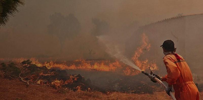 Συναγερμός στη Ζάκυνθο – Εμπρηστές καίνε το νησί (pics)