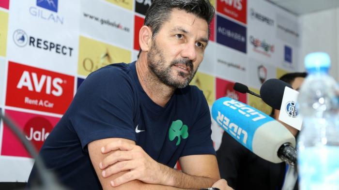 Ουζουνίδης: «Να βάλουμε γκολ.  Δεν έχουμε φόβο» | panathinaikos24.gr