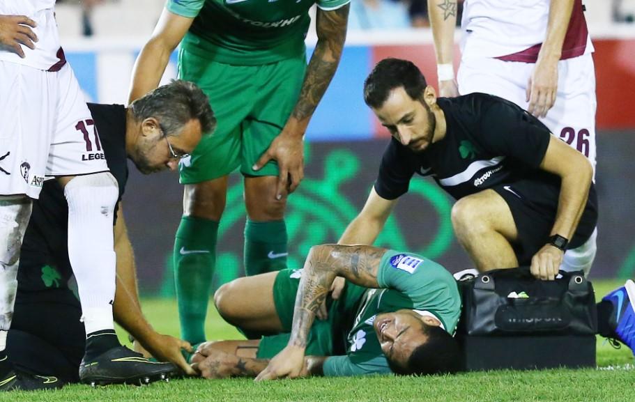 «Κλικ» από τον σοκαριστικό τραυματισμό του Λουτσιάνο (pics)