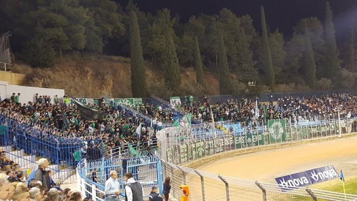 «Τρέλαναν» τους παίκτες οι οπαδοί του ΠΑΟ – Τι φώναζαν στη Λαμία | panathinaikos24.gr