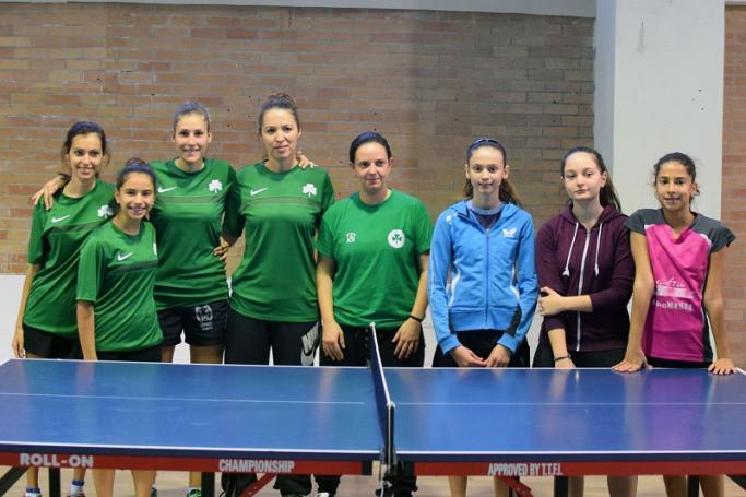Συνεχίζουν αήττητες οι γυναίκες του Ping Pong!   panathinaikos24.gr