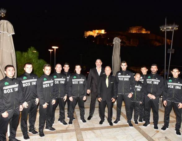 Πυγμαχία: Νέα σεζόν, νέοι στόχοι για τον «Champion» Παναθηναϊκό!   Panathinaikos24.gr