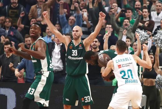 Never give up, never give in!   Panathinaikos24.gr