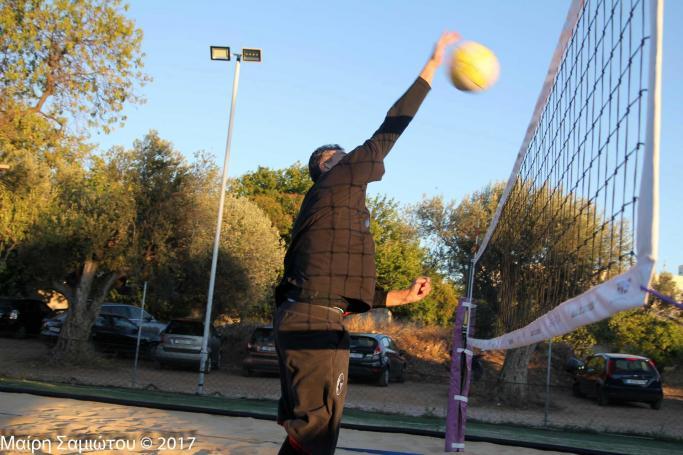 Το… γύρισε στο beach volley ο Διαμαντίδης! (pics) | Panathinaikos24.gr