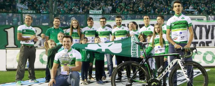 Τα «πράσινα» κάλαντα της ποδηλασίας (vid) | Panathinaikos24.gr