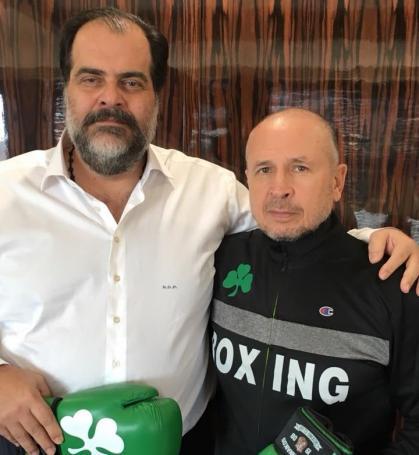 Μαζί με τον Πατέρα ο Αιδινιώτης (pic) | panathinaikos24.gr