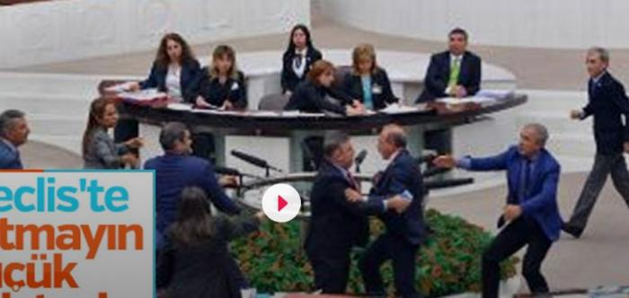 Τουρκία: Ξύλο στην Βουλή στη συζήτηση για τον προϋπολογισμό (vid) | Panathinaikos24.gr