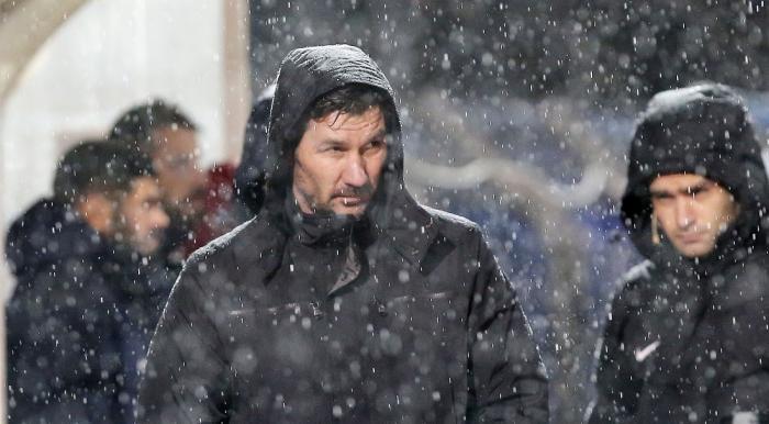 Έξαλλος ο Ουζουνίδης με Ευαγγέλου: «Γίνεται να παιχτεί μπάλα εδώ;» | Panathinaikos24.gr