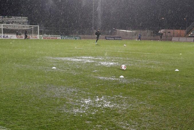 Επαιξαν για 10 λεπτά και ο διαιτητής το διέκοψε! | panathinaikos24.gr