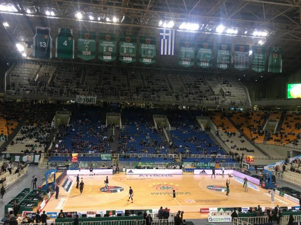 Οι πρώτες εικόνες από το ΟΑΚΑ (Pics) | panathinaikos24.gr