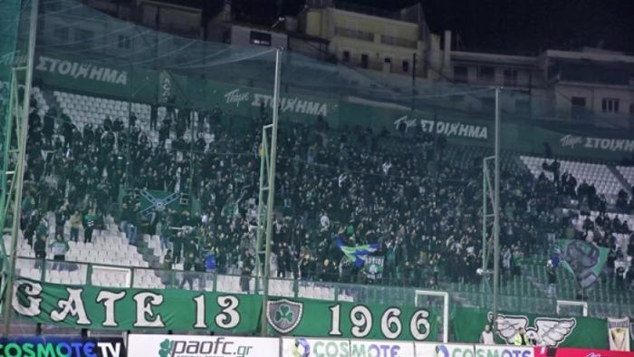 Πανό κατά του Αλαφούζου στη Ριζούπολη | panathinaikos24.gr