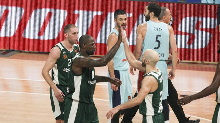 «Έλιωσε» και την Μπαρτσελόνα στο ΟΑΚΑ!   panathinaikos24.gr